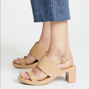 Melissa classy chunky heel sandal